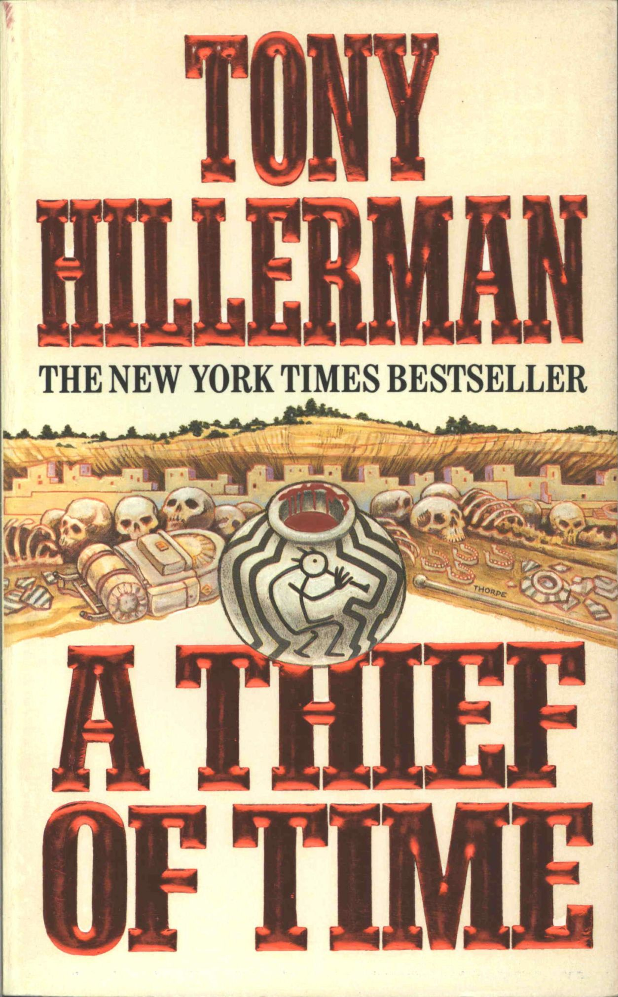 toni hillerman thief of time worksheet