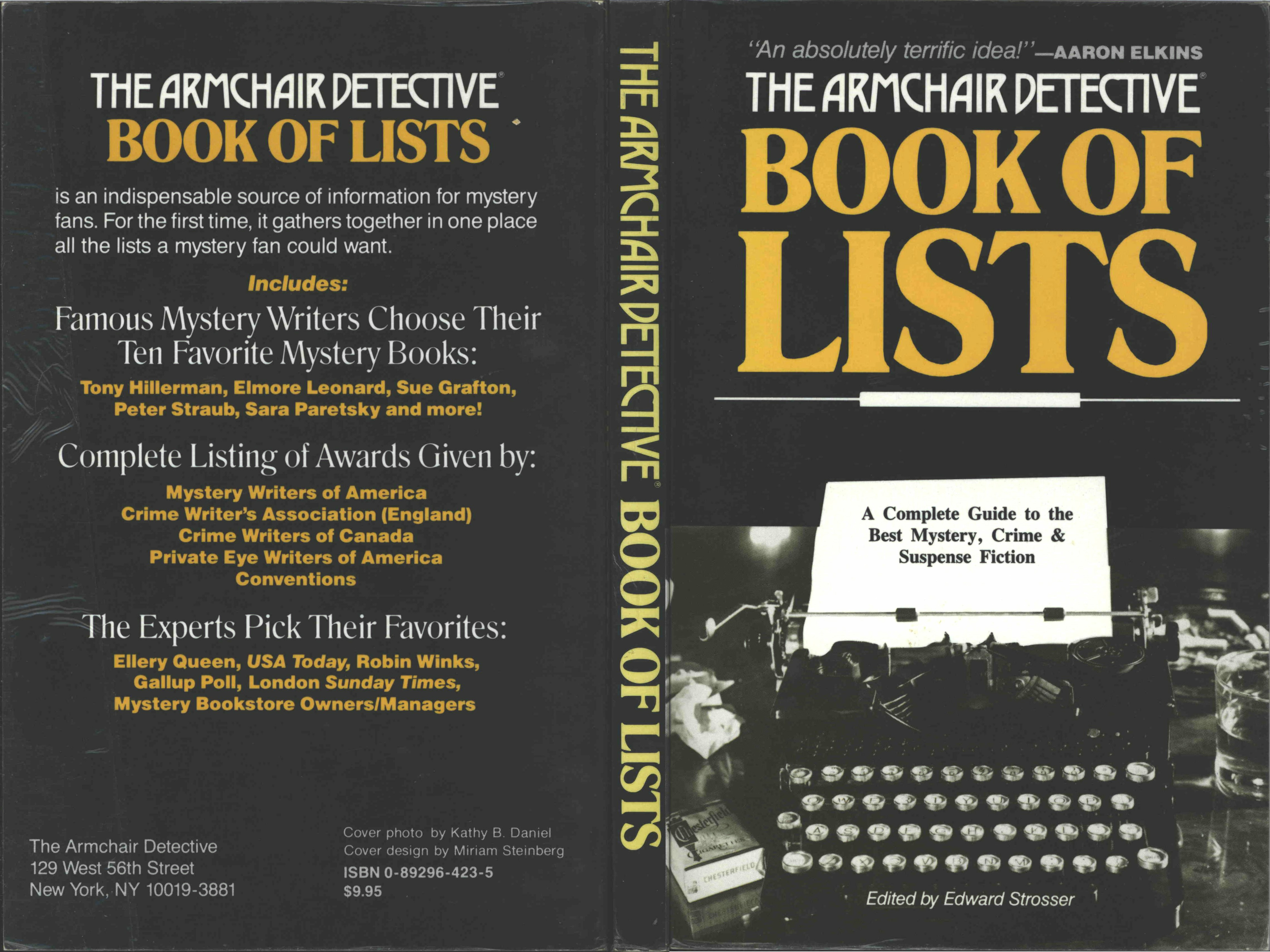 The Armchair Detective Book of Lists [The Armchair Detective