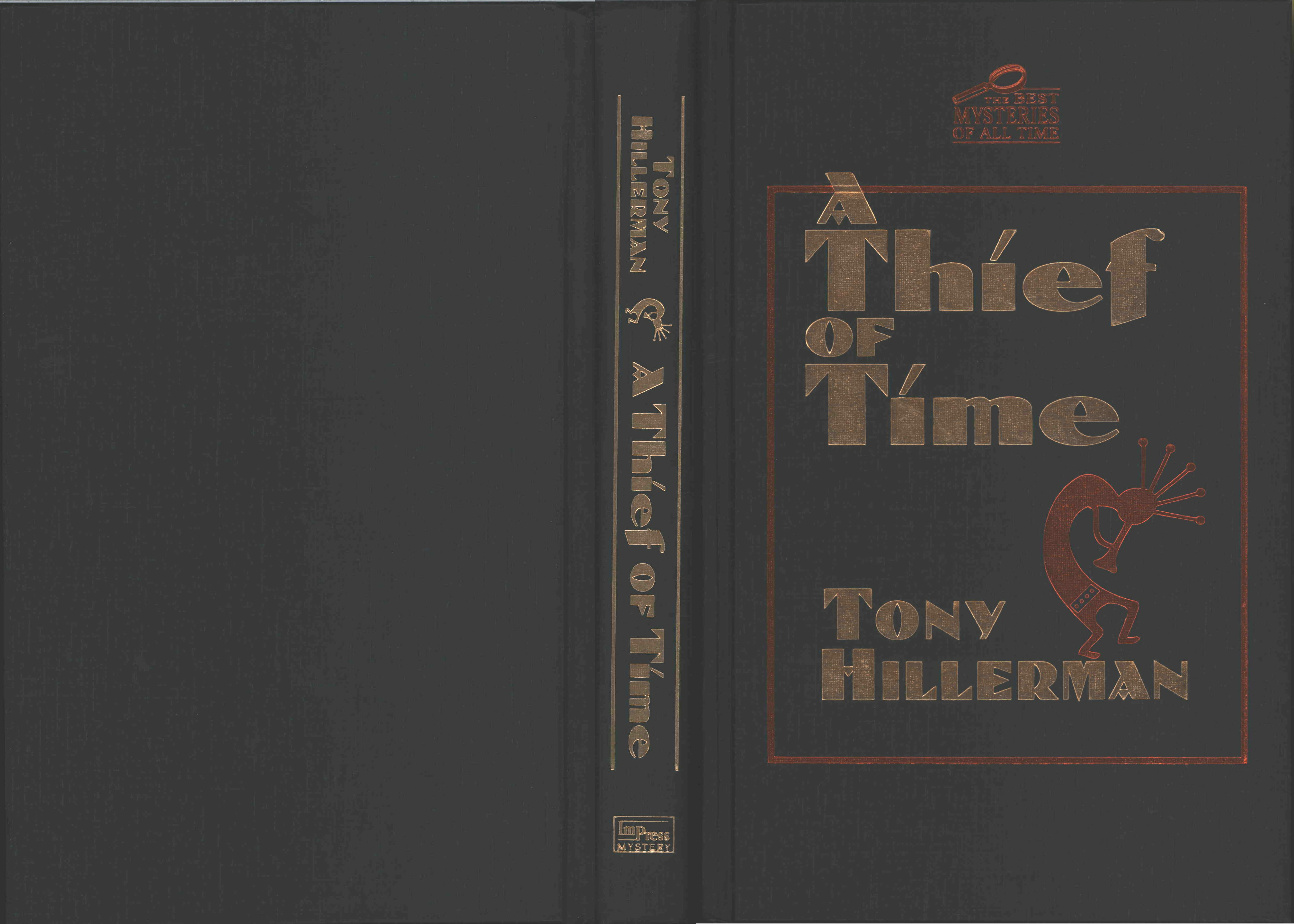 a literary analysis of a thief of time by tony hillerman A detailed description of skinwalkers characters and their character analysis summary also contains related titles on skinwalkers by tony hillerman.