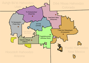 Window Rock is Navajo central - Dave Violette Blog