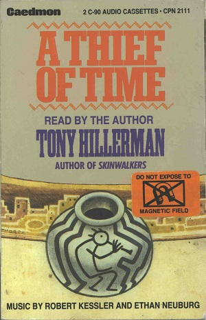 A Thief Of Time Audiobook 1988 The Tony Hillerman Portal border=